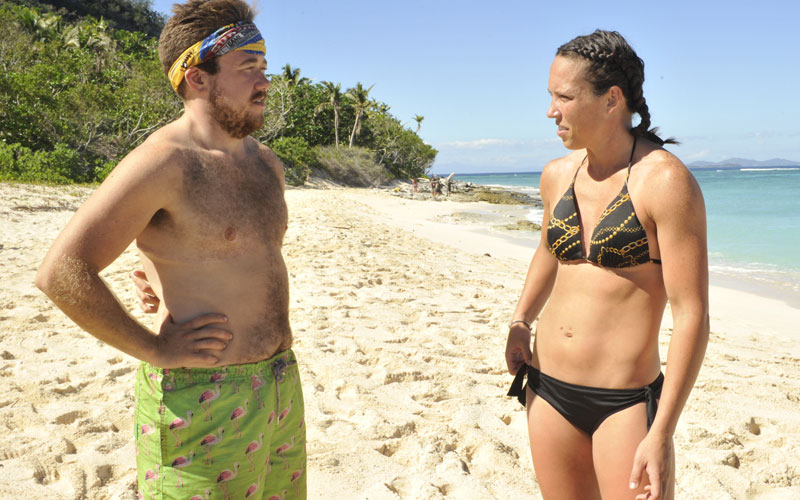 Survivor Game Changers, Zeke Smith, Sarah Lacina