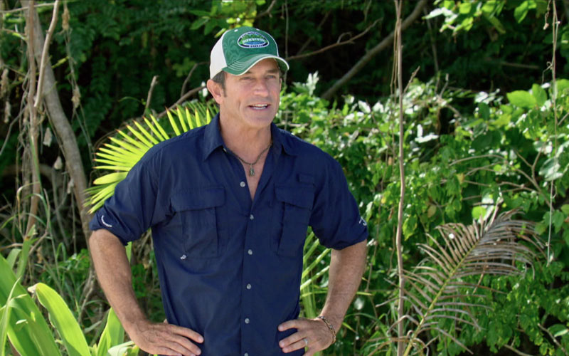 Jeff Probst, Survivor 35 theme