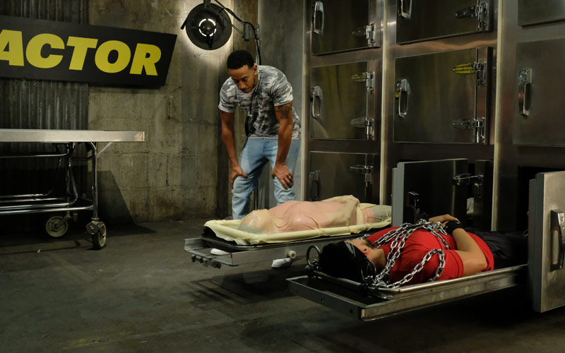 Ludacris, MTV, Fear Factor, morgue drawers