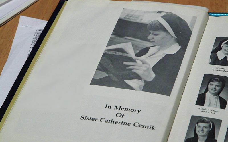 Sister Catherine Cesnik, The Keepers, Netflix