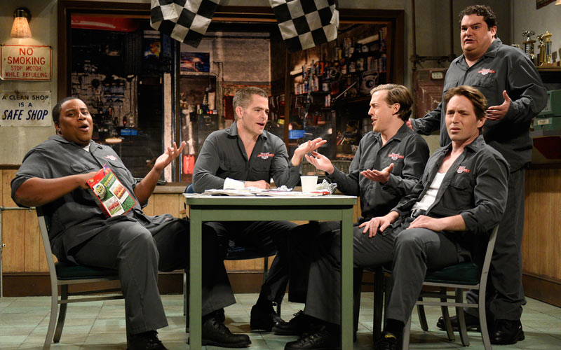 SNL Auto Shop, Chris Pine, RuPaul's Drag Race, The House