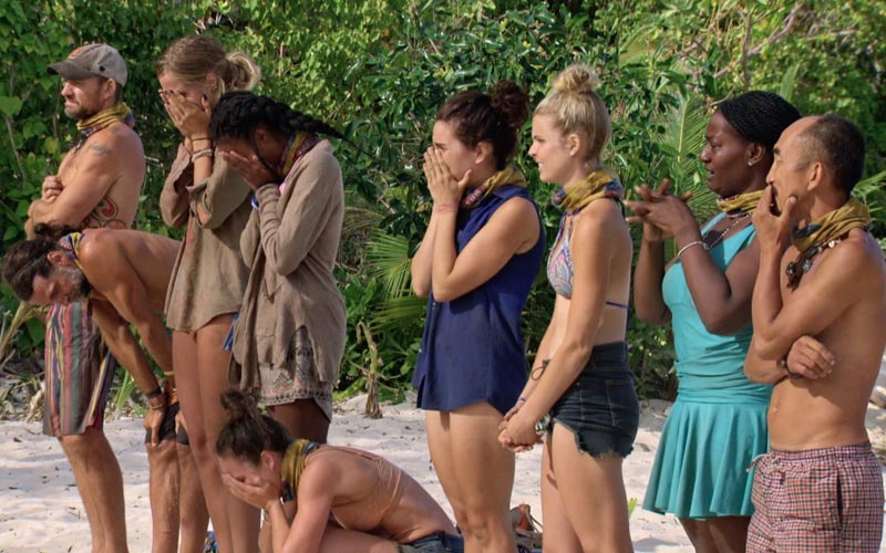 Survivor Game Changers, loved ones visit tears