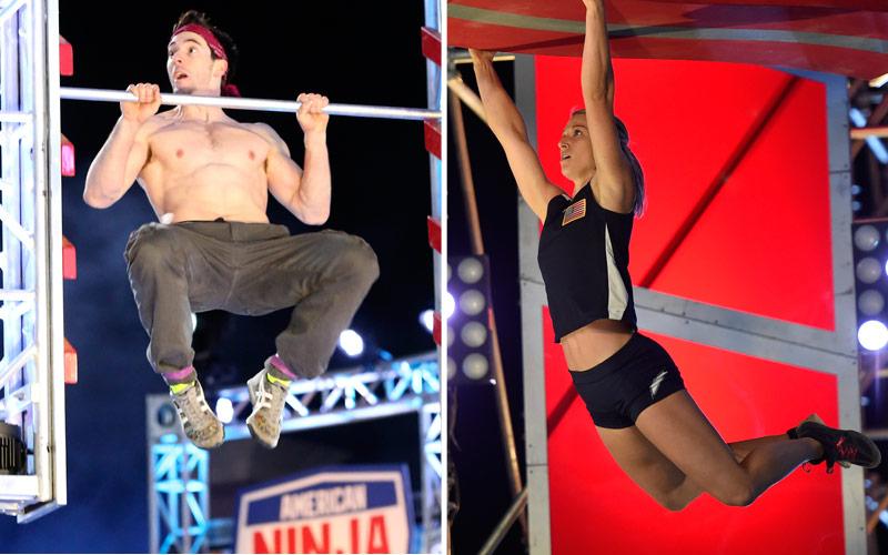 Drew Drechsel, Jessie Graff, American Ninja Warrior