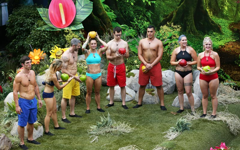Big Brother 19, BB19 premiere, immunity challenge, apples