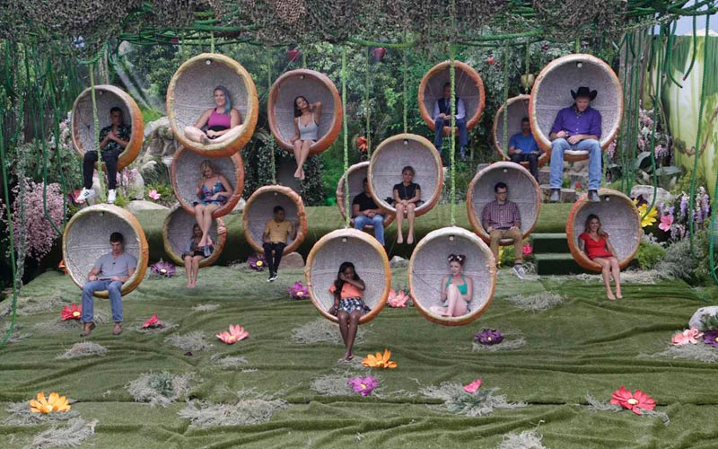 Big Brother 19 cast, first temptation, BB19