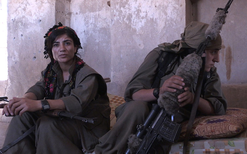 Hell on Earth, female PKK snipers