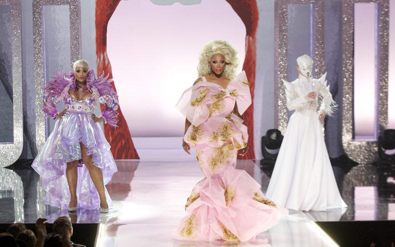 Peppermint, RuPaul, Sasha Velour, RuPaul's Drag Race season 9 finale
