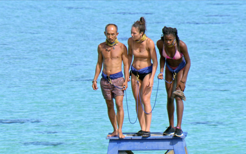Tai, Sarah, Michaela, Survivor Game Changers