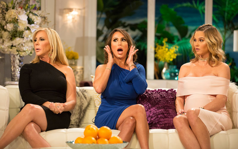 Vicki Gunvalson, Kelly Dodd, Meghan King Edmonds, RHOC reunion