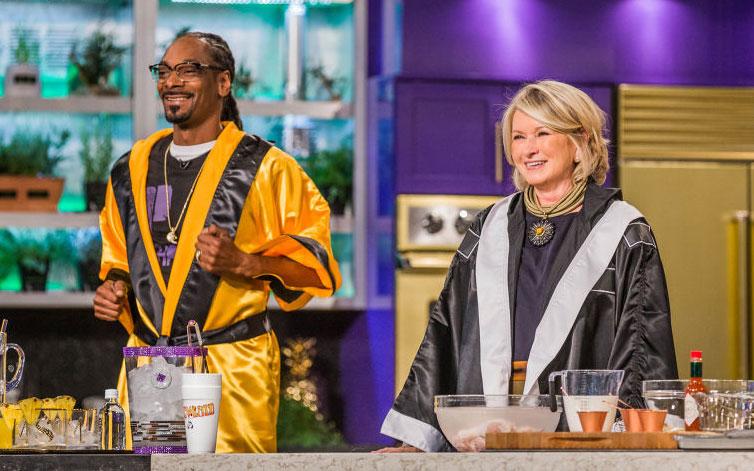 Snoop Dog, Martha Stewart