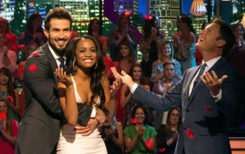 Bryan Abasolo, Rachel Lindsay, Chris Harrison, The Bachelorette finale