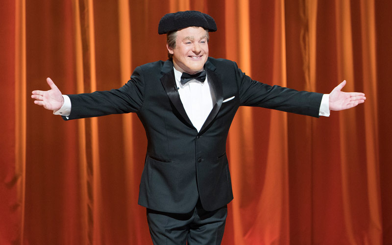 Gong Show host Tommy Maitland, Mike Myers, ABC