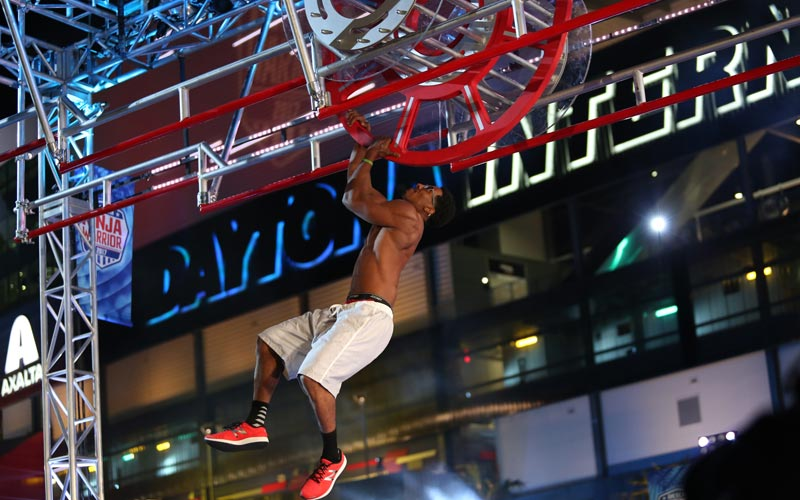 Michael Johnson, Daytona Beach, American Ninja Warrior