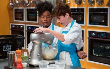 Top Chef Junior contestants Rahanna Martinez and Owen Pereira