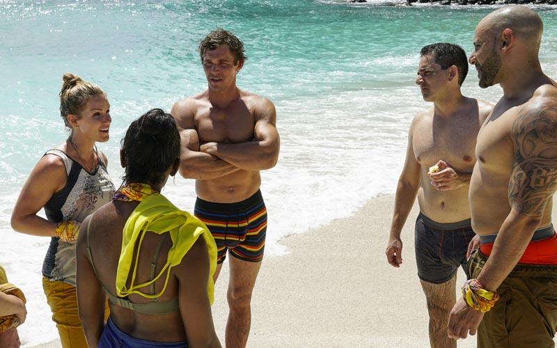 Survivor 35, Healers tribe on the beach