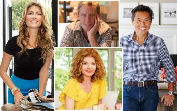 Trading Spaces designers, Genevieve Gorder, Doug Wilson, Vern Yip, Laurie Smith