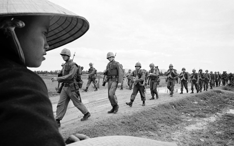The Vietnam War, PBS, Marines in Danang