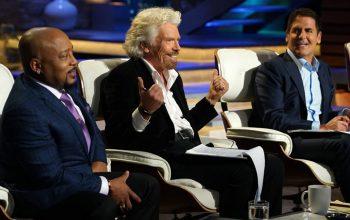 Daymond John, Richard Brandson, Mark Cuban, Shark Tank season 9