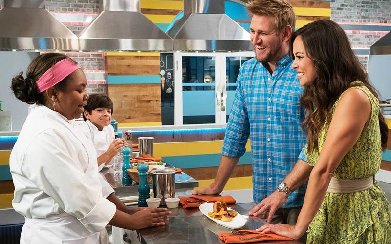 Top Chef Junior, Curtis Stone, Vanessa Lachey