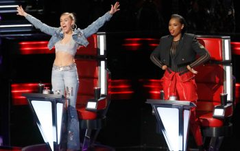 Miley Cyrus, Jennifer Hudson, The Voice season 13