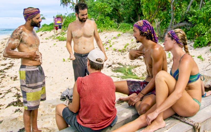 Survivor, Joe Mena, Mike Zahalsky, Lauren Rimmer, Devon Pinto, Ashley Nolan