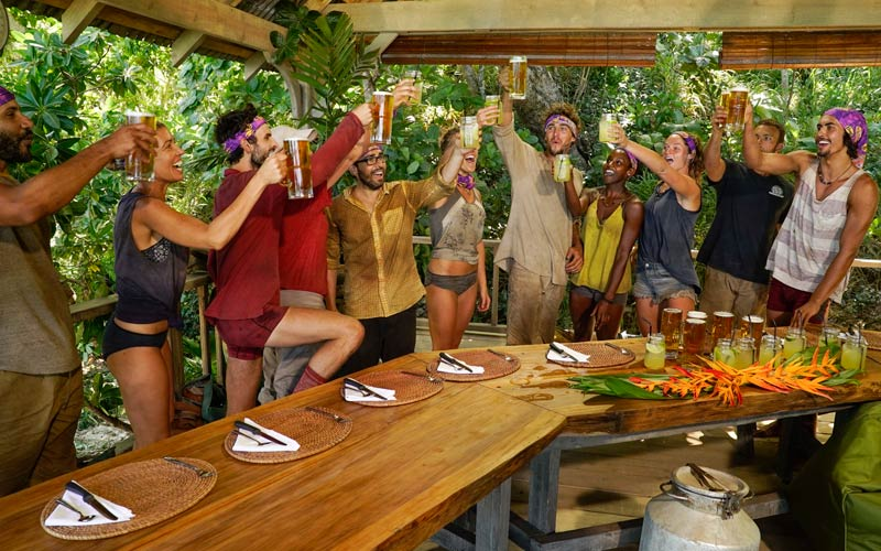 Survivor 35, merge feast