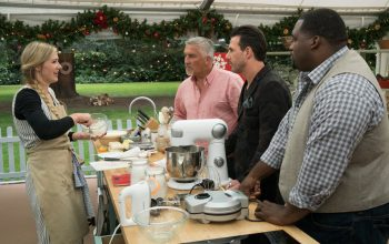 "Great American Baking Show, BRYAN MCKINNON, PAUL HOLLYWOOD, JOHNNY IUZZINI, ANTHONY ""SPICE"" ADAMS"