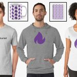 Now you can get reality blurred merch, as gifts or to treat yourself