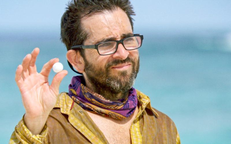 Survivor, Mike Zahalsky, white marble, reward challenge