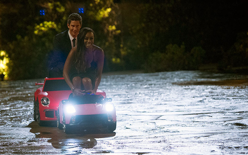 Arie Luyendyk Jr, Brittany T., tiny cars, The Bachelor 22