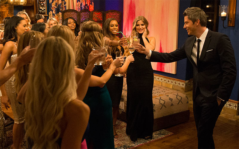 Arie Luyendyk Jr, The Bachelor 22, episode 1, cocktail party