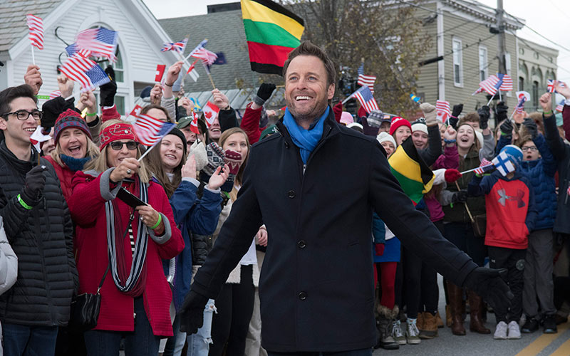 The Bachelor Winter Games, Chris Harrison