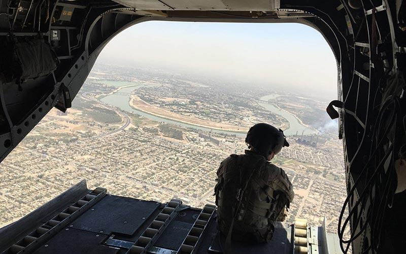Chain of Command, Mosul, Iraq