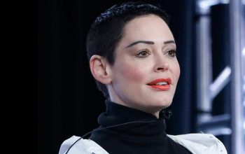 Rose McGowan, winter 2018 TCA, Citizen Rose