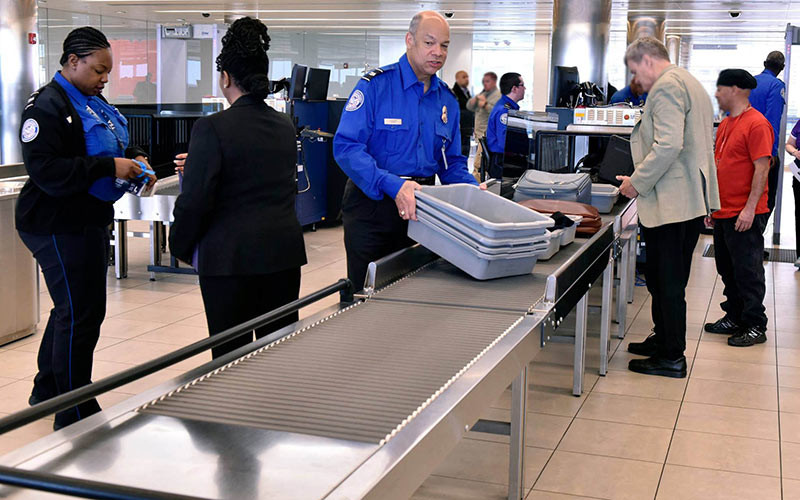 TSA, BWI, Jeh Johnson