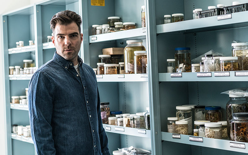 Zachary Quinto, In Search Of