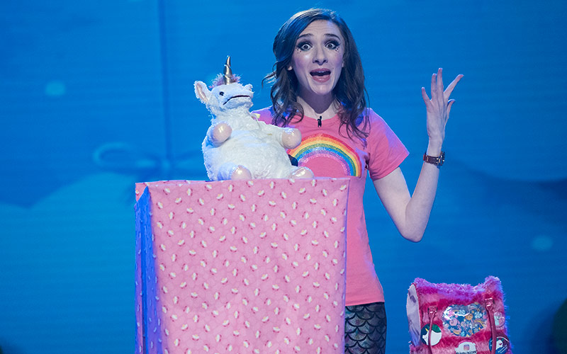 The Gong Show, Unicorn Ventriloquist Hannah Leskosky