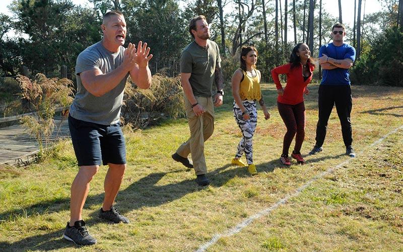 John Cena, American Grit, season two cadre