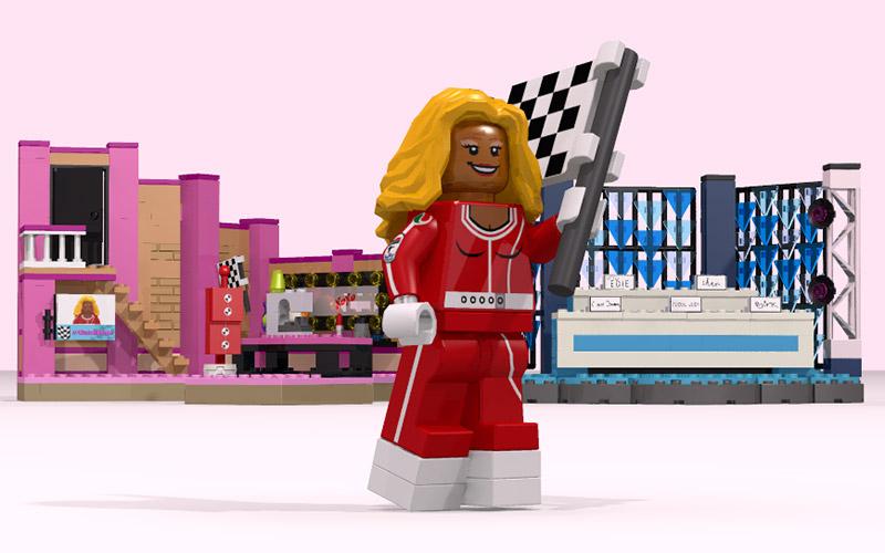 RuPaul's Drag Race LEGO