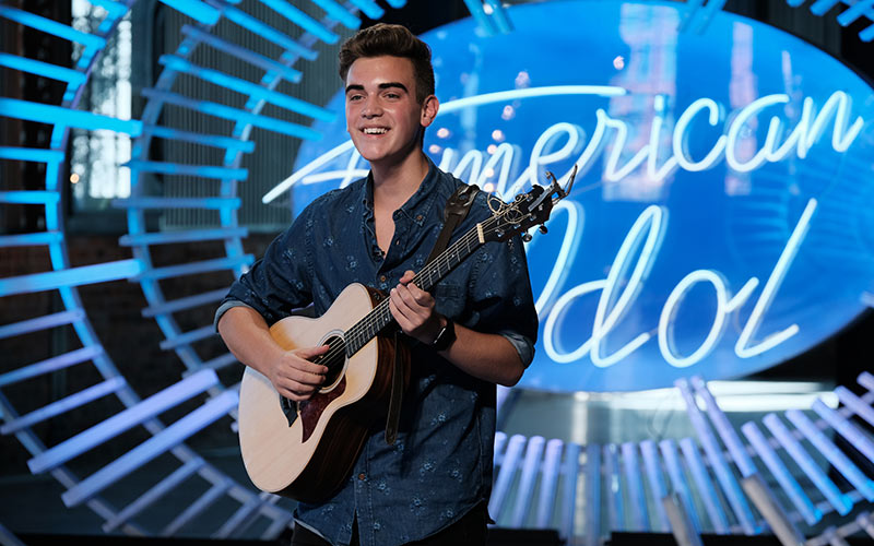 American Idol, Andrew Weaver audition
