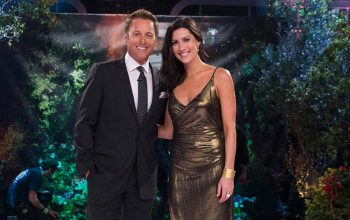 Chris Harrison and Becca Kufrin, Bachelor season 22 After the Final Rose