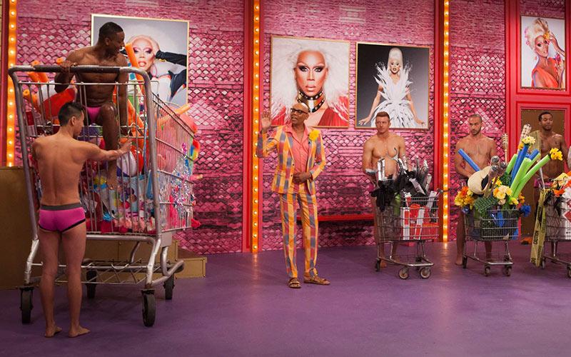 RuPaul's Drag Race season 10 premiere, pit crew