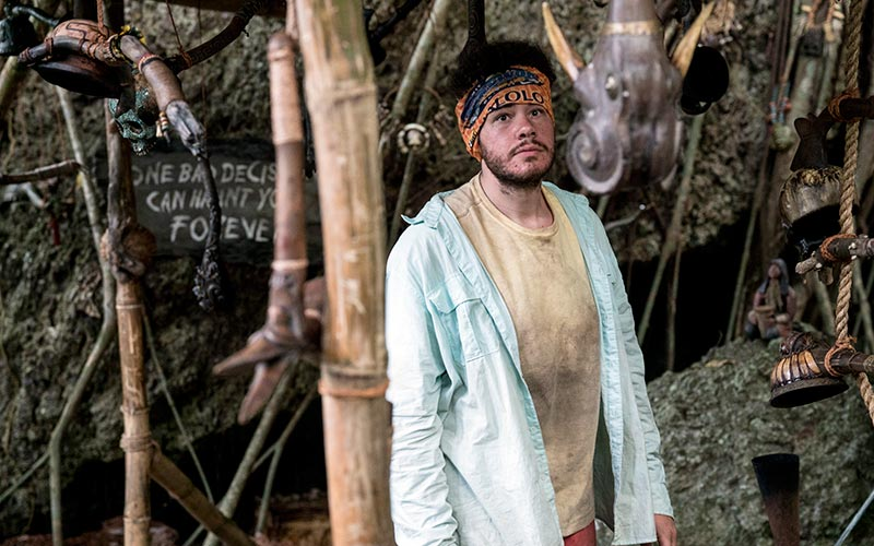 Jacob Derwin, Survivor Ghost Island