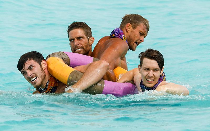Michael, Brendan, Chris, Donathan, Survivor Ghost Island