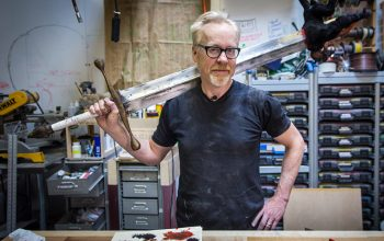 Adam Savage, Mythbusters
