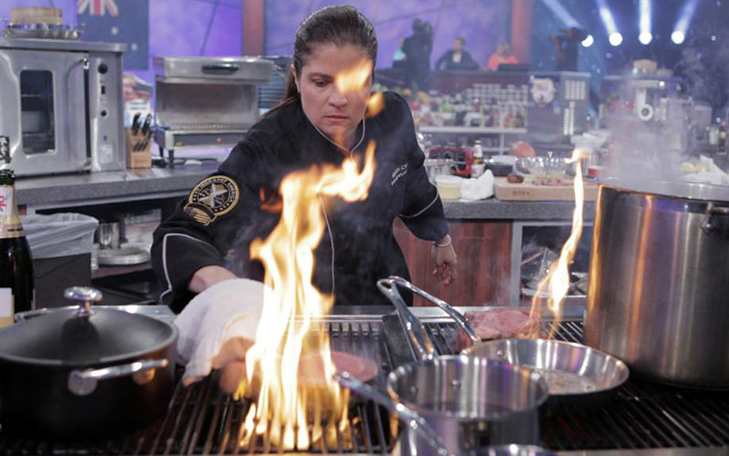 Alex Guarnaschelli, Iron Chef America
