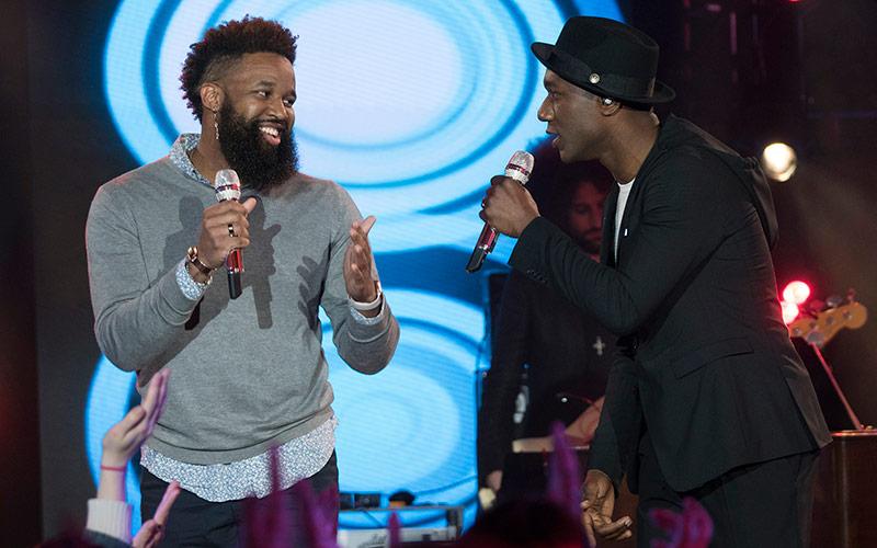 Dominique, Aloe Blacc, American Idol