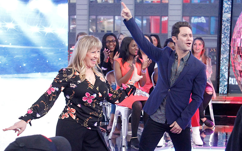 Tonya Hardin, Sasha Farber, Dancing with the Stars Athletes