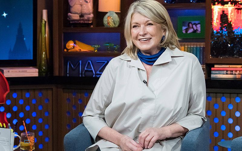 Martha Stewart, Watch What Happens Live