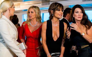 Real Housewives of Beverly Hills, Erika Girardi, Camille Grammer, Lisa Rinna, Lisa Vanderpump
